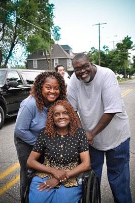 Clara Ward and Family