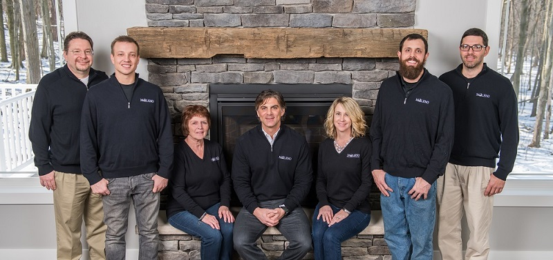 Maleno Custom Building team in Erie, PA