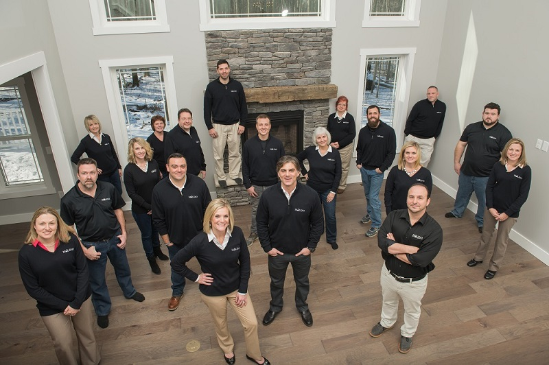 Maleno Custom Building, Real Estate, and Property Management teams in Erie, PA
