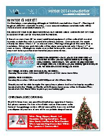 Maleno Newsletter 2014 Winter