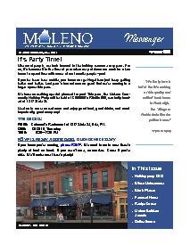 Maleno Newsletter 2018 November